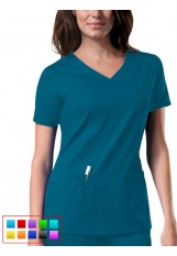 Cherokee CoreStretch - 4727 - Women's V-Neck Top