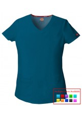 Dickie's EDS - 85906 - Jr. Fit V-Neck Top