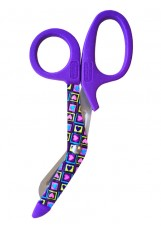 "5.5"" StyleMate Utility Scissor Four Square Hearts"