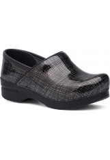 Dansko – Professional - Silver Black Crisscross Patent Leather