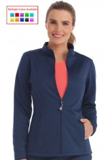 8a06d41ce56 Details · Med Couture – 8684 – Women's Med Tech Zip Front Solid Scrub Jacket