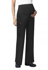 Wink – 545 – Maternity Cargo Pant - Black